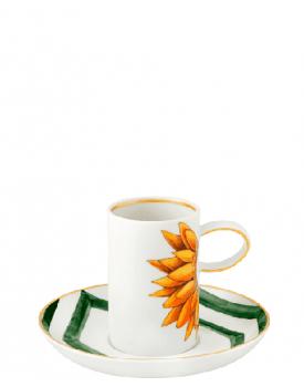 Комплект 2 луксозни чаши за кафе Amazonia Vista Alegre