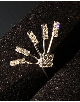 Фуркети за коса с кристали
