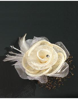 Сватбена украса за коса