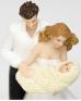 "Сватбена фигурка за торта ""Мама, татко и аз"""