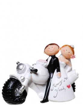 """Сватбена фигурка за торта """"Забавни младоженци"""" Merry Me Yeah!"""
