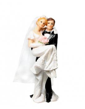 Сватбена фигурка за торта Младоженци