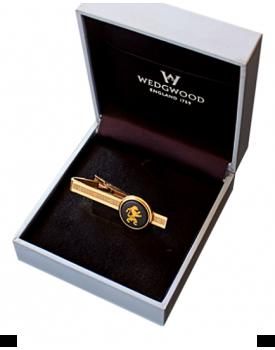 Позлатена игла за вратовръзка Wedgwood