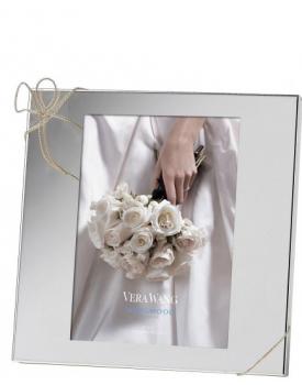 Дизайнерска рамка за снимки Vera Wang Love Knots посребрена