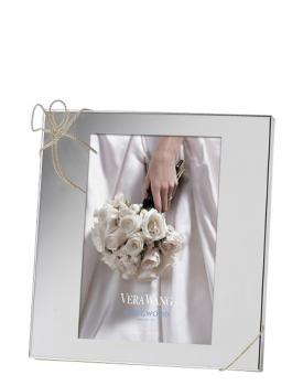 Посребрена рамка за снимка Vera Wang Love Knots