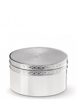 Посребрена кутийка за бижута Vera Wang With Love Silver