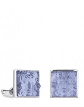 Копчета за ръкавели Lalique Arethuse Sapphire Blue