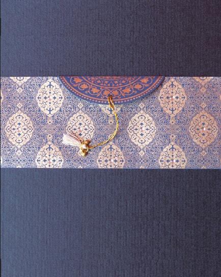 Плик за пари златиста декорация