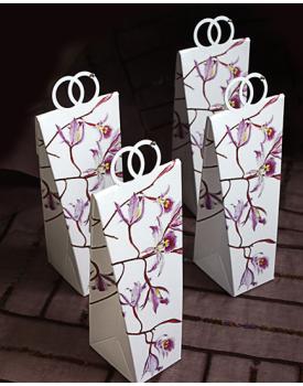 Кутийка за сватбено подаръче Цветя