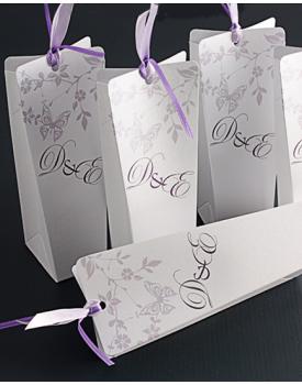 Кутийка за сватбено подаръче с инициали