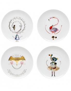 Комплект десертни чинии Vista Alegre Tea With Alice