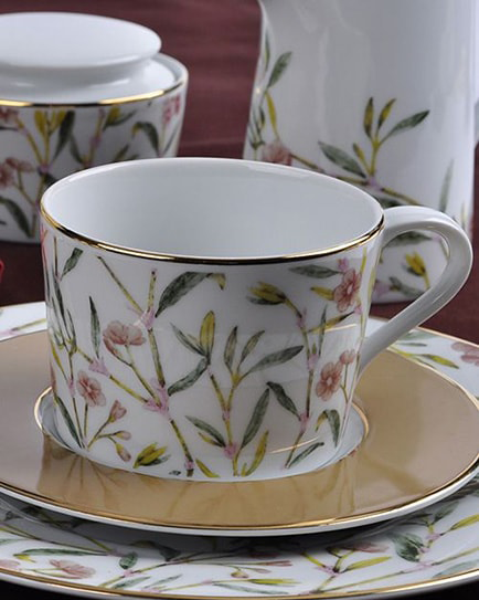 Порцеланов сервиз за чай Amber