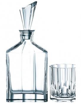 Кристален комплект за уиски Aspen