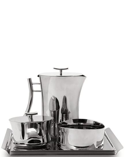 Sambonet сервиз за кафе от INOX 4 части