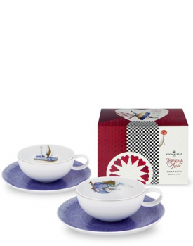 "Луксозен комплект за чай Vista Alegre ""Tea with Alice"""