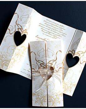 Сватбена покана Гълъби