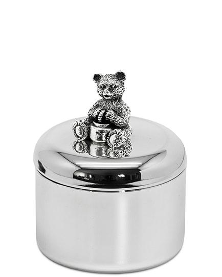 Луксозна посребрена кутийка