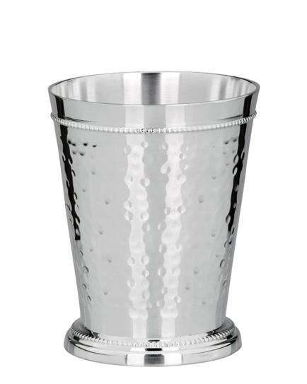 Ръчно кована сребърна чаша за вода