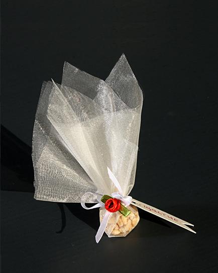 Късметчета за сватба с червена роза