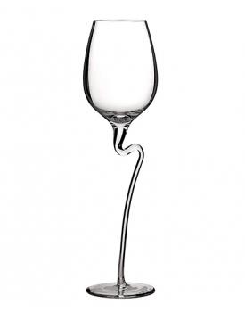 Кристален сватбен бокал Huatt Med Red Wine