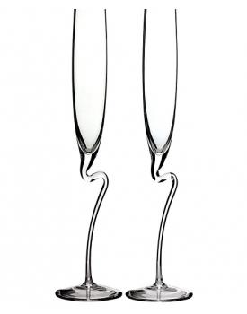 Сватбени чаши Huat Flute ръчна изработка