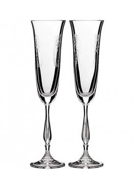 Кристални сватбени чаши Antic