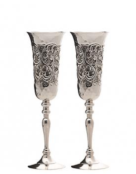 Сватбени чаши посребрени