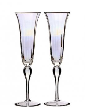 Сватбени чаши Iris Flute ръчна изработка