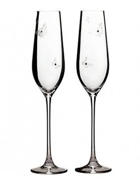 Дизайнерски сватбени чаши Miranda Kerr